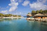 Hemingway Beach Beach Bar and Grill, Willemstad, Curacao, West Indies, Lesser Antilles Lámina fotográfica por Jane Sweeney