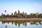 Angkor Wat, UNESCO World Heritage Site, Siem Reap Province, Cambodia, Indochina Photographic Print by Jason Langley
