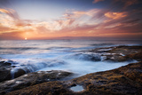 Sunset, Western Shore of Tenerife in the Canary Islands, Spain, Atlantic, Europe Photographic Print by Garry Ridsdale