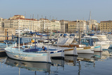 The Old Port of Marseille (Vieux Port) in Marseille, Bouches-Du-Rhone, Provence Photographic Print by Chris Hepburn