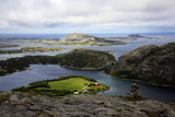 View across the Islands of Flatanger, Nord-Trondelag, Norway, Scandinavia, Europe Photographic Print by David Pickford