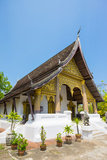 Wat Choumkhong Buddhist Temple, Luang Prabang, Louangphabang Province, Laos, Indochina Photographic Print by Jason Langley