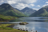 Great Gable, and Yewbarrow, Lake Wastwater, Wasdale, Lake District National Park Photographic Print by James Emmerson