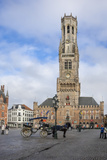 Belfry, Market Place, Bruges, UNESCO World Heritage Site, Belgium, Europe Photographic Print by James Emmerson