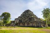 Seven-Tiered Pyramid Prasat Prang at Prasat Thom, Koh Ker Temple Ruins, Preah Vihear Province Photographic Print by Jason Langley