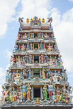 Sri Mariamman Temple in Chinatown Photographic Print by Fraser Hall
