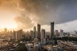 General View of the Skyline of Central Mumbai (Bombay), Maharashtra, India, Asia Photographic Print by Alex Robinson