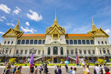 Phra Thinang Chakri Maha Prasat Throne Hall, Grand Palace Complex, Bangkok Photographic Print by Jason Langley