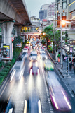 Sukhumvit Road Traffic in Rush Hour, Bangkok, Thailand, Southeast Asia, Asia Photographic Print by Alex Robinson