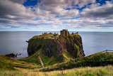 Dunnottar Castle Outside of Stonehaven, Aberdeenshire, Scotland, United Kingdom, Europe Fotodruck von Jim Nix