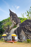 Religious Statues at Buddha Park (Xieng Khuan), Vientiane, Laos, Indochina, Southeast Asia, Asia Photographic Print by Jason Langley