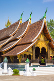 Wat Xieng Thong Buddhist Temple, UNESCO World Heritage Site, Luang Prabang Photographic Print by Jason Langley