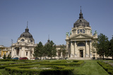 Szechenhyi Baths with its Main Dome and Northern Dome, Budapest, Hungary, Europe Photographic Print by Julian Pottage