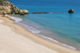 Praia Dos Tres Castelos, Portimao, Algarve, Portugal, Europe Photographic Print by G&M Therin-Weise