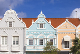 Colonial Dutch Architechure Near Main Street, Oranjestad, Aruba, Netherlands Antilles, Caribbean Photographic Print by Jane Sweeney