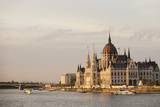 Evening Light on the Hungarian Parliament Building and Danube River, Budapest, Hungary, Europe Photographic Print by Ben Pipe