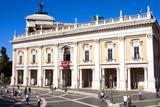 Palazzo Nuovo, Campidoglio, Capitoline Hill, UNESCO World Heritage Site, Rome, Lazio, Italy, Europe Photographic Print by Nico Tondini