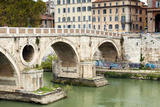 Ponte Sisto (Sisto Bridge) and River Tiber, Rome, UNESCO World Heritage Site, Lazio, Italy, Europe Photographic Print by Nico Tondini