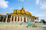 The Silver Pagoda (Wat Preah Keo Morakot), Royal Palace, Phnom Penh, Cambodia, Indochina Photographic Print by Jason Langley