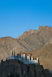 A View of Magnificent 1000-Year-Old Lamayuru Monastery in Remote Region of Ladakh in Northern India Photographic Print by Alex Treadway