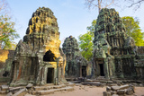 Ta Prohm Temple (Rajavihara), Angkor, UNESCO World Heritage Site, Siem Reap Province, Cambodia Photographic Print by Jason Langley