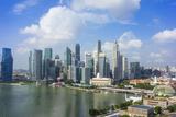 Singapore Skyline Photographic Print by Fraser Hall