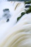 Iguacu (Iguazu) (Iguassu) Falls in Full Flow, UNESCO World Heritage Site, Argentina, South America Photographic Print by Alex Robinson