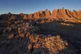 Badlands at First Light, Badlands National Park, South Dakota Photographic Print by James Hager
