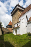 Viscri Fortified Church in Viscri, One of the Villages with Fortified Churches in Transylvania Photographic Print by Matthew Williams-Ellis