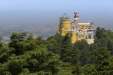 The Colorful and Decorated Castle of Palacio Da Pena, UNESCO World Heritage Site Photographic Print by Roberto Moiola
