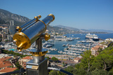 View of Harbour, Monaco, Mediterranean, Europe Photographic Print by Frank Fell