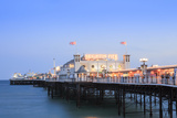 Palace Pier, (Brighton Pier), Brighton, Sussex, England, United Kingdom, Europe Photographic Print by Alex Robinson