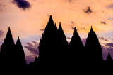 Prambanan Hindu Temples, UNESCO World Heritage Site, Near Yogyakarta, Java, Indonesia Photographic Print by Alex Robinson