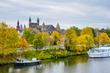 Maastricht Skyline, Onze Lieve Vrouwebasiliek (Basilica of Our Lady) in Early Autumn, Maastricht Photographic Print by Jason Langley