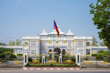 Presidential Palace, Official Residence of the President of Laos, Vientiane, Laos, Indochina Photographic Print by Jason Langley