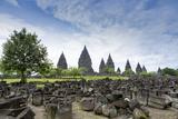 Prambanan Hindu Temples, UNESCO World Heritage Site, Near Yogyakarta, Java, Indonesia Photographic Print by Alex Robinson