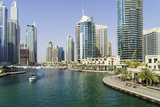 Dubai Marina, Dubai, United Arab Emirates. Middle East Photographic Print by Fraser Hall