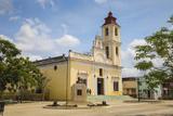 Parque Maceo, Iglesia De Nuestra Senora De La Caridad, Sancti Spiritus Photographic Print by Jane Sweeney