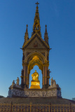The Albert Memorial in Kensington Gardens at Sundown, London, England, United Kingdom, Europe Photographic Print by Michael Nolan