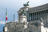 Altare Della Patria (Il Vittoriano), Rome, Lazio, Italy, Europe Photographic Print by Nico Tondini