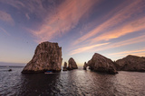 Sunrise over Land's End, Finnisterra, Cabo San Lucas, Baja California Sur, Mexico, North America Photographic Print by Michael Nolan
