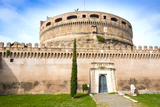 Mausoleum of Hadrian (Castel Sant'Angelo), UNESCO World Heritage Site, Rome, Lazio, Italy, Europe Photographic Print by Nico Tondini