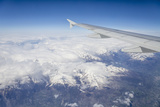 The Alps from a Commercial Flight, France, Europe Photographic Print by Julian Elliott