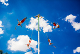 Voladores (The Flying Men), Tlaquepaque, Mexico, North America Photographic Print by Laura Grier