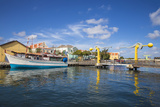 L.B. Smith Bridge, Punda, Willemstad, Curacao, West Indies Photographic Print by Jane Sweeney