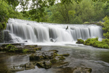 Monsal Weir in Monsal Head Valley, Peak District National Park, Derbyshire, England, United Kingdom Photographic Print by Chris Hepburn
