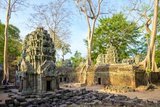 Ta Prohm Temple Ruins, Angkor, UNESCO World Heritage Site, Siem Reap Province, Cambodia Photographic Print by Jason Langley