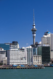 Auckland Sky Tower and City Skyline, North Island, New Zealand, Pacific Photographic Print by Matthew Williams-Ellis