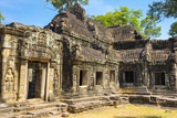 Banteay Kdei Temple, Angkor, UNESCO World Heritage Site, Siem Reap Province, Cambodia Photographic Print by Jason Langley