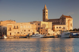 San Nicola Pellegrino Cathedral, at Sunrise, Harbour, Trani, Le Murge Photographic Print by Markus Lange